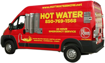 Water heater repair in Panama City, FL