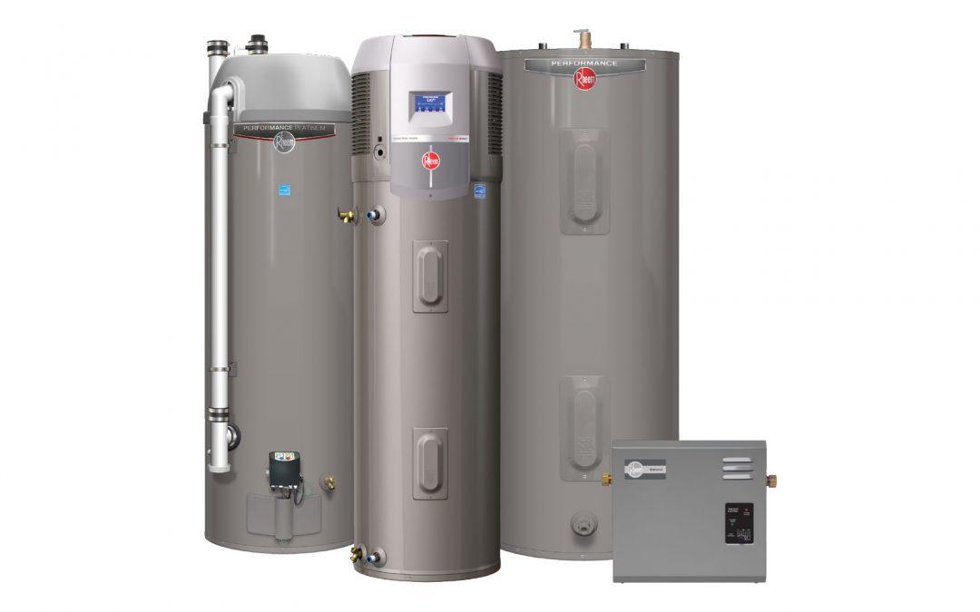 Rheem Water Heater service