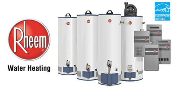 rheem water heater selection