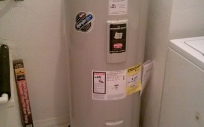 Leaking water heater